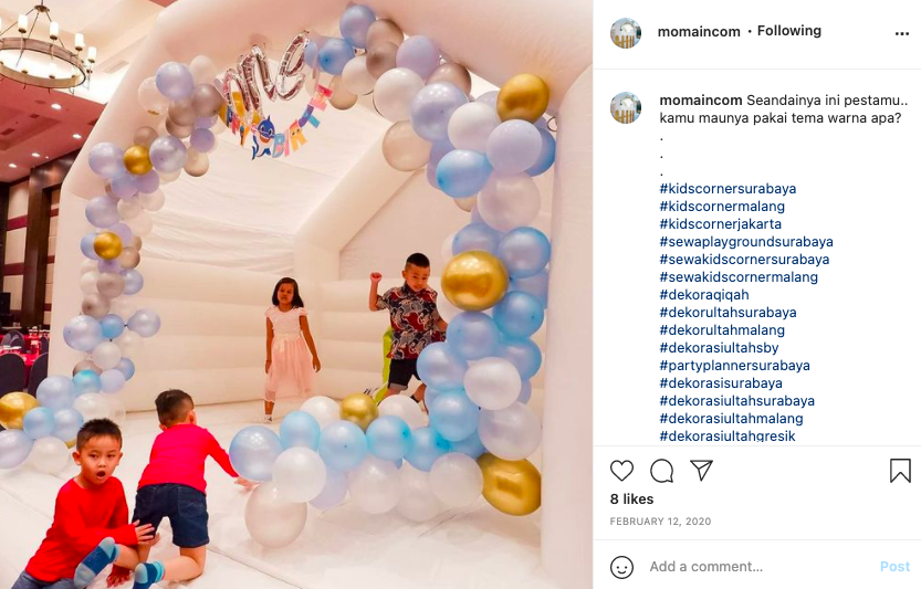 sewa bouncy castle