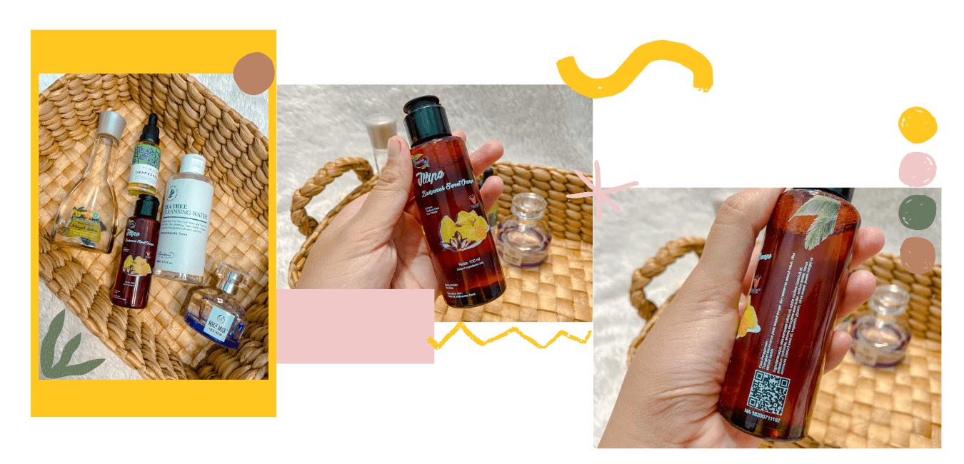 Sabun mandi dari minyak tengkawang, buatan lokal produksi dari UMKM Kalimantan Barat *bangga*