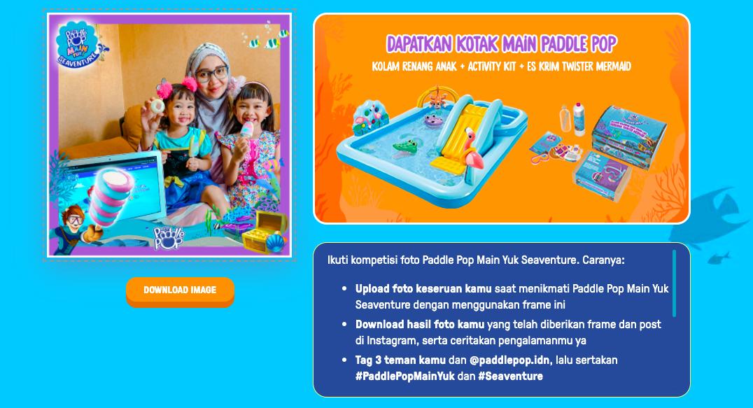 paddle pop seaventure, review paddle pop seaventure, es krim yang aman untuk anak, review paddle pop